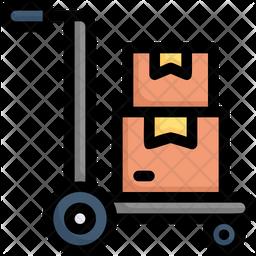 Cargo Dolly Icon