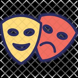 Carnival masks Icon