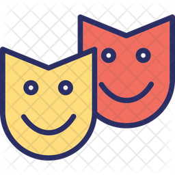 Carnival masks Icon