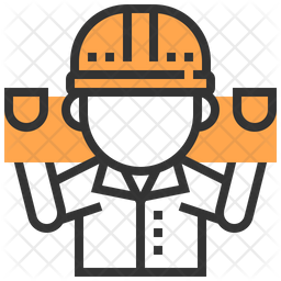 Carpenter Dualtone Icon