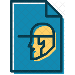 Carpentry Lessons Document Colored Outline Icon