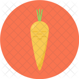 Carrot, Farming, Root, Taproot, Healthy, Crunchy, Dietetic, Vegetable Icon