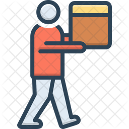 Carry Colored Outline Icon