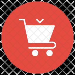 Cart Glyph Icon