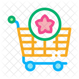 Flower Shopping Icon