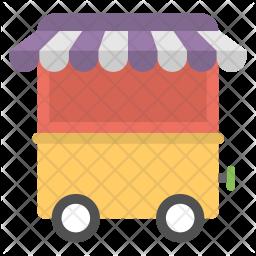 Cart Kiosk Icon