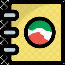 Cartography Book Icon