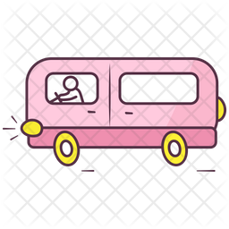 Cartoon Bus Icon Of Doodle Style Available In Svg Png Eps Ai Icon Fonts