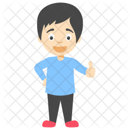 Cartoon Little Boy Icon Of Flat Style Available In Svg Png Eps Ai Icon Fonts