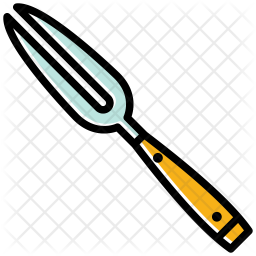 Carving fork Icon