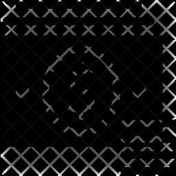 Cash Glyph Icon