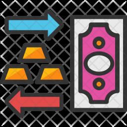Cash Conversion Icon