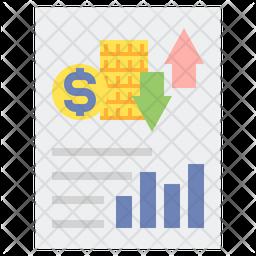 Cash Flow Statement Icon