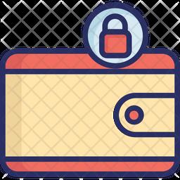 Cash Privacy Colored Outline Icon