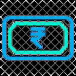 Cash Rupees Icon