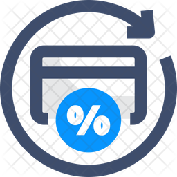 cashback icon of colored outline style available in svg png eps ai icon fonts iconscout