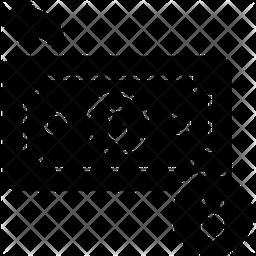 Cashback Glyph Icon