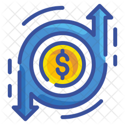 Cashflow Icon Of Colored Outline Style Available In Svg Png Eps Ai Icon Fonts