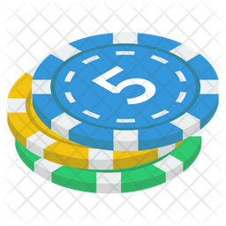 Casino Poker chips Icon