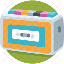 Cassette Player Icon