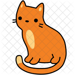 Cat Icon Of Colored Outline Style Available In Svg Png Eps Ai Icon Fonts