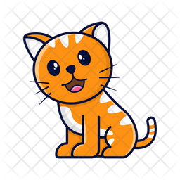 Cat Icon Of Sticker Style Available In Svg Png Eps Ai Icon Fonts