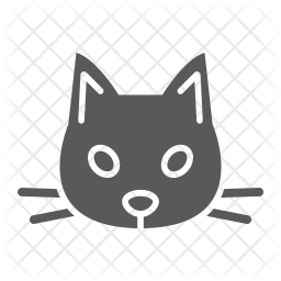 Cat Icon Of Glyph Style Available In Svg Png Eps Ai Icon Fonts