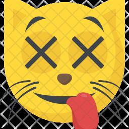 Cat Face Emoji Icon
