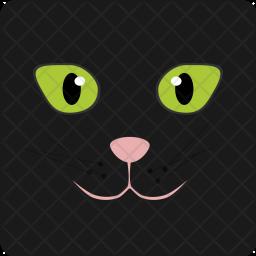 Cat, Halloween, Spooky, Seasonal Icon