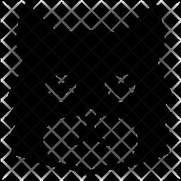 Cat In Love Emoji Icon