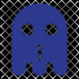 Cat mouth Flat  Emoji Icon