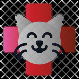 Cat Veterinary Icon