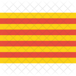 Catalonia Flag Icon Of Flat Style Available In Svg Png Eps Ai Icon Fonts