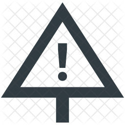 Caution Icon Of Glyph Style Available In Svg Png Eps Ai Icon Fonts