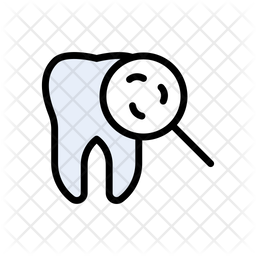 Cavity Tooth Decay Icon