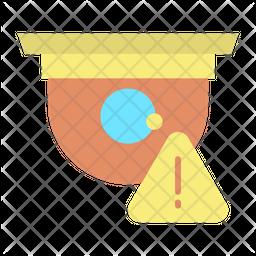 Cctv Warning Icon