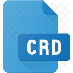 Cdr file Flat Icon