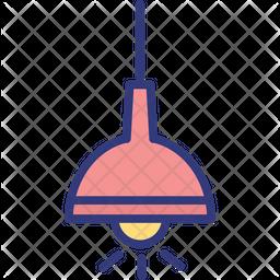 Ceiling lamp Icon
