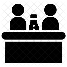 Celebration Glyph Icon