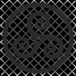 Celtic ornament Icon