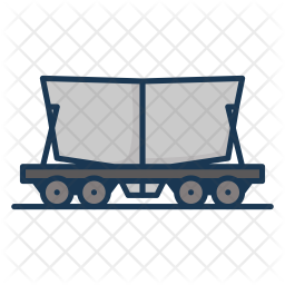 Cement train Icon