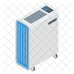 Central Heating System Icon