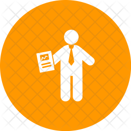 Certificate holder Icon