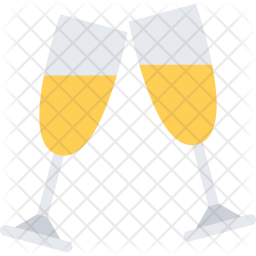Champagne, New, Year, Christmas, Winter, Holidays Icon png