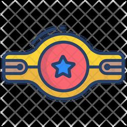Champion Belt Icon