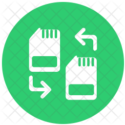 Change simcard Icon
