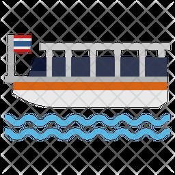 Chao Phraya Ferry Icon