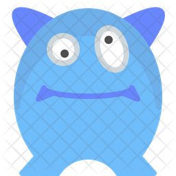 Character dizzy Flat Icon