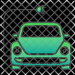 Charging car Icon