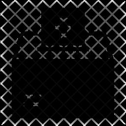 Charity Glyph Icon